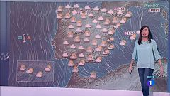 La semana arranca con vientos fuertes en casi toda la Península