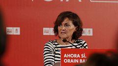 """Calvo (PSOE): """"Pedimos un cambio de criterio para todos, incluido nosotros, de generosidad con los intereses de este país"""""""