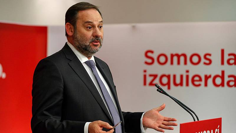 """Ábalos asegura que el PSOE quiere desbloquear la situación """"en el menor tiempo posible"""""""