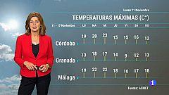 El tiempo en Andalucía - 11/11/19