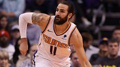 Ricky Rubio firma su mejor partido con los Suns