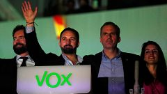 Vox se muestra prudente tras su ascenso a tercera fuerza política