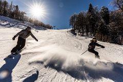 España Directo - La estación de esquí La Pinilla