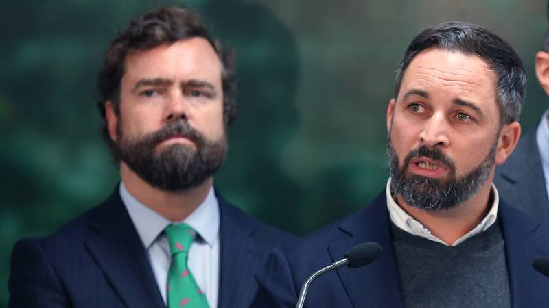 Vox descarta facilitar un Gobierno de izquierdas encabezado por el PSOE