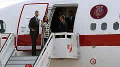 Los reyes inician un histórico viaje oficial a Cuba
