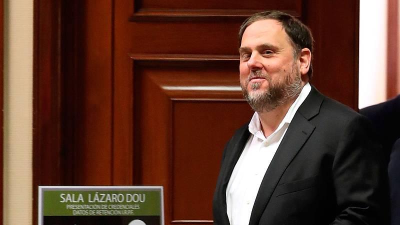 El abogado general del Tribunal de Justicia de la UE considera que Junqueras debió ser reconocido europarlamentario