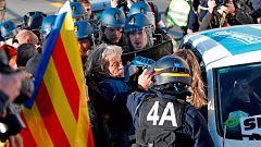 Reabierta la circulación por carretera entre España y Francia tras el desalojo de La Jonquera