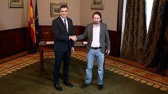 Especial informativo - Preacuerdo de gobierno de coalición entre PSOE y UP