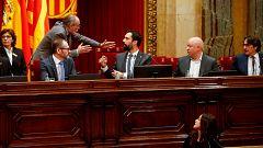 El Parlament de Cataluña aprueba una moción de autodeterminación desobedeciendo al Tribunal Constitucional