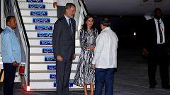 Los reyes comienzan su visita de Estado en La Habana