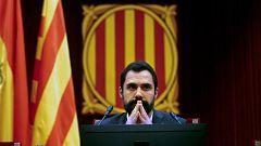 La Fiscalía General insta a la catalana a investigar si la mesa del Parlament puede haber incurrido en un delito