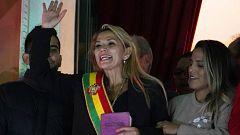La senadora Jeanine Áñez asume la Presidencia de Bolivia