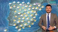 Lluvias intensas en el Cantábrico y viento fuerte en el tercio norte