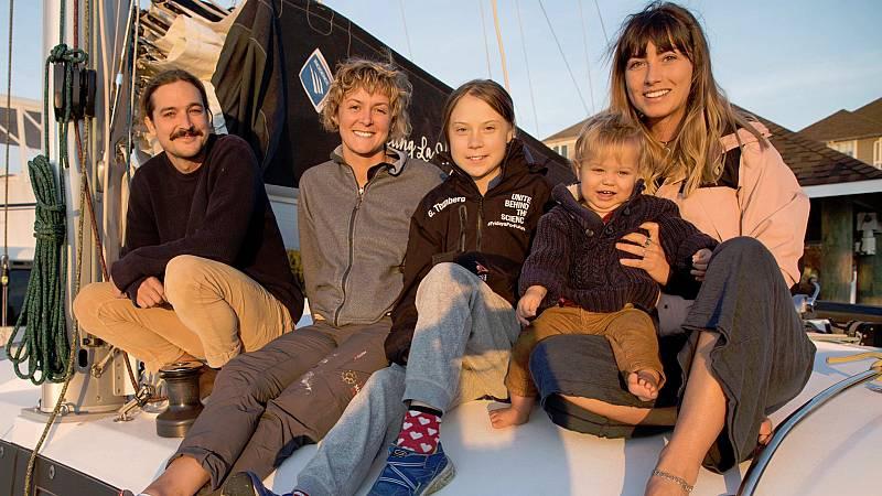 La joven activista sueca Greta Thunbergzarpa este miércolesdesde el puerto de Hampton (Virginia, EE.UU.) con el objetivo de volver a cruzar el Atlántico y asistir a laCumbre del Clima (COP25) de Madriden diciembre.Esta vez, Thunberg viajaa bordo