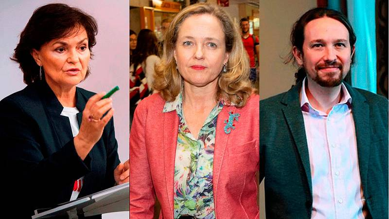 Podemos tendría tres ministerios en un gobierno con tres vicepresidentes: Calvo, Calviño e Iglesias
