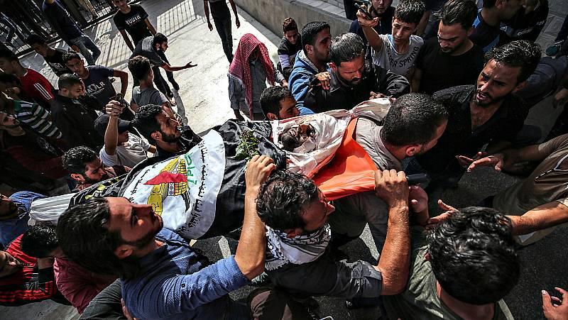 Los enfrentamientos en Gaza dejan ya 22 palestinos muertos