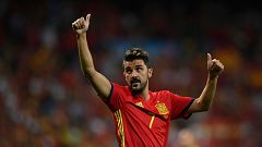 14 horas - David Villa en cinco goles