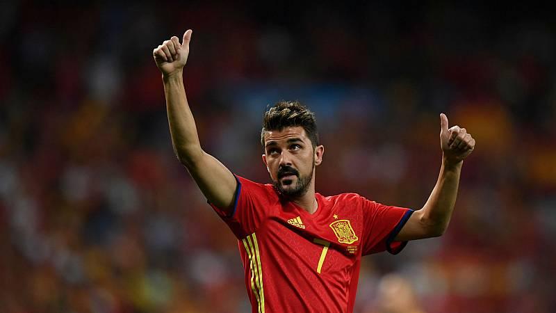 14 horas - David Villa en cinco goles - Escuchar ahora