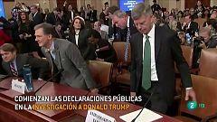 Audiencias públicas en el proceso a Trump