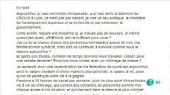 Movilización de estudiantes en Francia