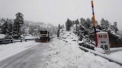 Nieve en el norte y lluvias en casi toda la península y Baleares y bajada de temperaturas