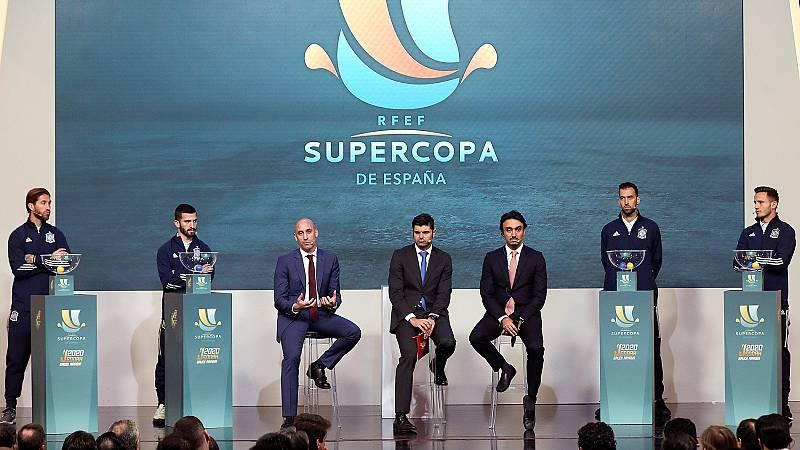 Jesús Álvarez explica la decisión de RTVE de no optar a los derechos de la Supercopa