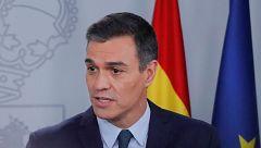 """Pedro Sánchez pide """"responsabilidad"""" y """"generosidad"""" a ERC para la investidura"""