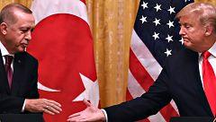 Trump recibe a Erdogan en la Casa Blanca para recuperar la fluidez en las relaciones diplomáticas