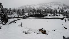 El temporal de nieve complica la circulación en el norte y centro peninsular