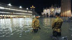 El Gobierno italiano declara el estado de emergencia en Venecia por las inundaciones