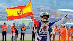 Lorenzo, una vida de éxitos dedicada al motociclismo