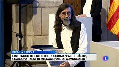 Cinto Niqui, director de L'altra ràdio, premi Premi Nacional de Comunicació