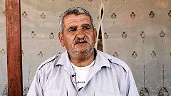 """Itab Nahar: """"Desde que nos desplazaron hemos sufrido las minas terrestres -israelíes-"""""""