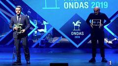 Carlos Frangaillo recibe su premio Ondas como mejor presentador