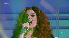 """La Prohibida y Algora cantan """"Bouvet"""" en La 2 Noticias"""