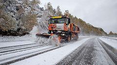 El invierno deja la primera gran nevada en el centro y norte peninsular