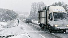 Doce comunidades en alerta por nieve, frío, lluvia, viento y oleaje