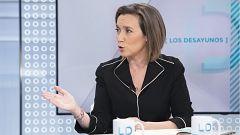 Gamarra asegura que el PP no se está planteando una gran coalición con el PSOE como sugirió Feijóo