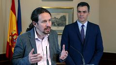 """Iglesias advierte que """"tendrán que cerder en muchas cosas"""" en su acuerdo con el PSOE"""