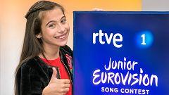 Melani cumple su sueño en Eurovisión Junior 2019