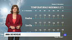 El tiempo en Andalucía - 15/11/19