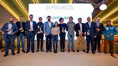 Blanca Fernández Ochoa y las deportistas olímpicas españolas, homenajeadas en los III Premios Nacionales de los Deportes de Nieve