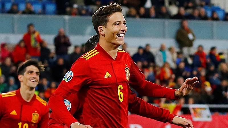 """El jugador del Villarreal, debutante este viernes con la selección española, se ha mostrado """"más que feliz"""" por su debut y por el gol que ha marcado a Malta."""