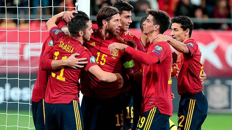 Resumen y goles del España 7-0 Malta