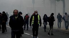 Disturbios en París en una nueva protesta de los 'chalecos amarillos'