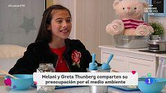 """Corazón - Melani: """"Soy muy fan de Greta Thunberg y la sigo en todo lo que hace"""""""