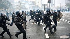 Altercados en las calles de París en el primer aniversario de los 'chalecos amarillos'