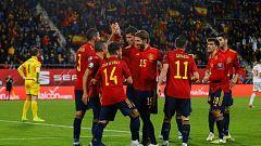 España y la nueva generación que pide paso a base de goles