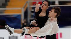Patinaje artístico - Rostelecom Cup. Programa libre danza