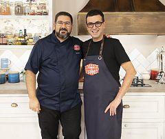 """El chef Ricard Camarena, visita """"Hacer de comer"""""""